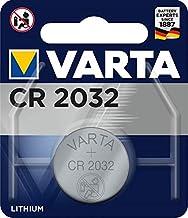 VARTA CR 2032, 6032101401, Batteria Litio a Bottone, Piatta, Specialistica, 3 Volts, Diametro 20mm, Altezza 3,2mm, confezione 1 pila