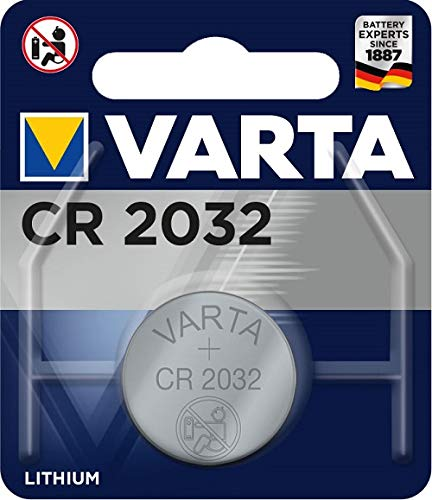 Varta CR2032 - Pack de 1 pila (Litio, 3V, 230 mAh
