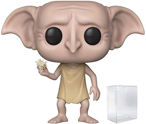 Harry Potter - Dobby Snapping his Fingers Funko Pop! Vinyl Figure (Includes Compatible Pop Box Protector Case) image