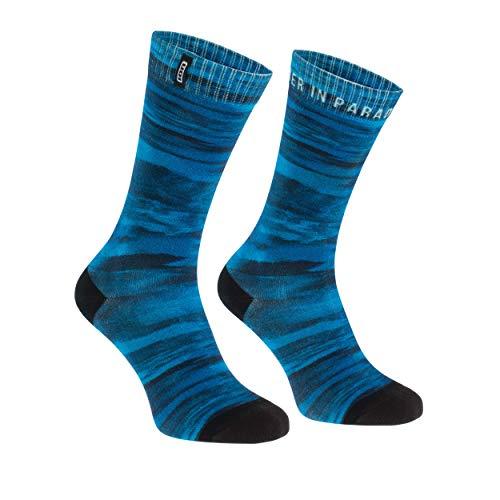 Ion Seek Fahrrad Socken blau/schwarz 2021: Größe: 39-42
