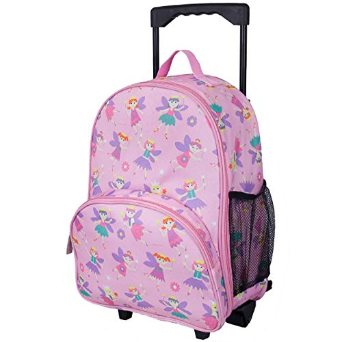 Wildkin W85417 Rolling Luggage, Fairy Princess, One Size