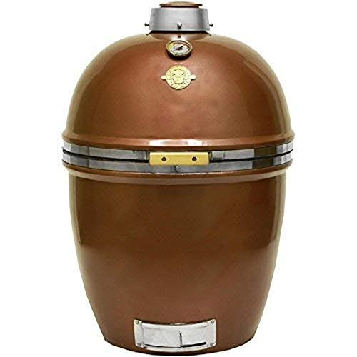 Big Sale Grill Dome Infinity Series Ceramic Kamado Charcoal Smoker Grill, Copper, Large