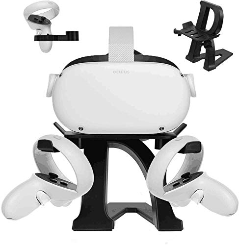 Eyglo VR-Ständer für Oculus Quest 2/Oculus Quest/Oculus Rift S/Oculus Go/Valve Index/HTC Vive/HTC Vive Pro Headset-Displayhalter VR-Zubehör Montagestation