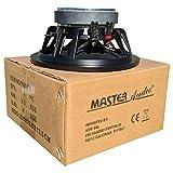 1 Master Audio PA08/8 Altavoz 20.00 cm 200 mm 8' 240 vatios rms 480 vatios MAX impedancia 8 ohmios con sensibilidad 92 db Negro, 1 Pieza