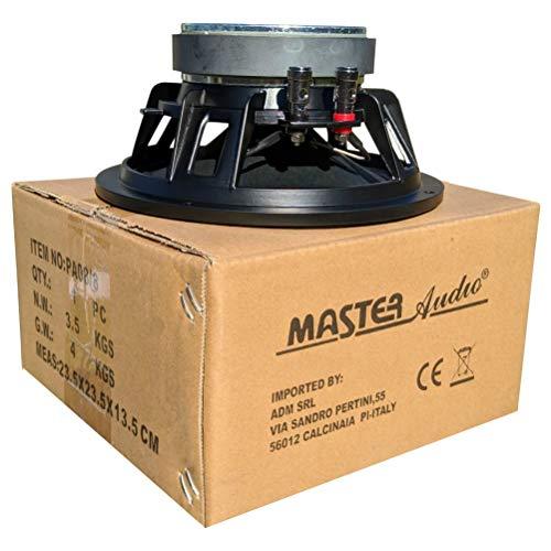 """1 WOOFER MASTER AUDIO PA08/8 altoparlante diffusore 20,00 cm 200 mm 8"""" da 240 watt rms 480 watt max impedenza 8 ohm con sensibilità 92 db, 1 pezzo"""