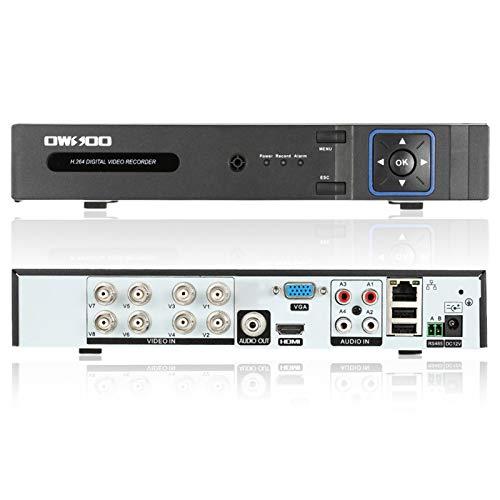 OWSOO 8CH H.264 1080P P2P Network DVR CCTV Sicurezza Controllo di Telefono Email Allarme di Rilevamento del Movimento per Telecamera di Sorveglianza1