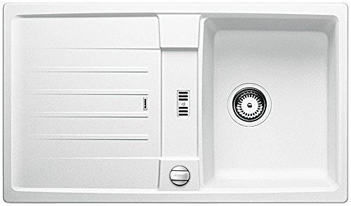 BLANCO LEXA 45 S - Fregadero (Blanco, 1 senos, 340 x 420 mm, 19 cm)