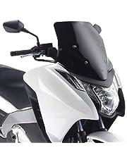 Xuulan Xianglaa-Parabrezza per Moto Schermo del Vento Deflettori Parabrezza Fumo Iridium Accessori per Parabrezza di Compatibile with FZ1 Fazer 1000 S FZ1S 2007 2008 2009 2012 2013 2014 2015