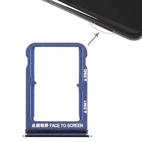 Fulvit Card Socket Phone Double SIM Card Tray for Xiaomi Mi 8 (Black) (Color : Blue) Minnesota