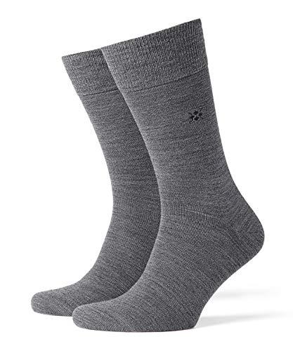 Burlington Herren Socken Leeds M SO, Grau (Dark Grey 3070), 40-46 (UK 6.5-11 Ι US 7.5-12)
