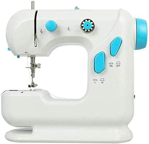 AIWKR Draagbare naaimachine, draagbare naaimachine met twee snelheden, kleine elektrische overlock-naaimachine, als stof gebruikt, houtbewerkingsmachine voor schoenen