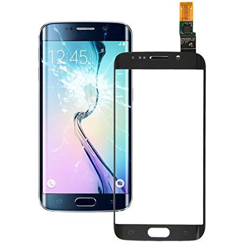 Dmtrab para Panel táctil Panel táctil for Galaxy S6 Edge / G925 (Negro) (Color : Black)