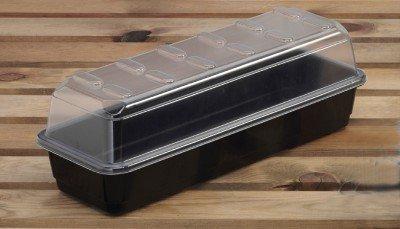 Garland - Propagadores para Ventanas (3 Unidades, 37 x 22 x 23 cm), Color Negro