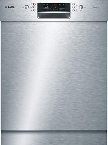 Bosch SMU45KS02E Serie 4 Unterbau-Geschirrspüler / A++ / 60 cm / Edelstahl / 262 kWh/Jahr / 13 MGD / SilencePlus / Extra Trocknen / VarioSchublade