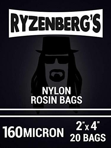 Ryzenberg's Kolophoniumpressbeutel, 160 µm, 160 µ, 5,1 x 10,2 cm, 20 Stück
