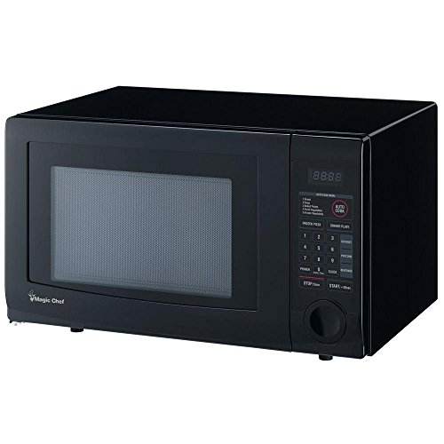Magic Chef 1.1 Cu. Ft. Countertop Microwave in Black