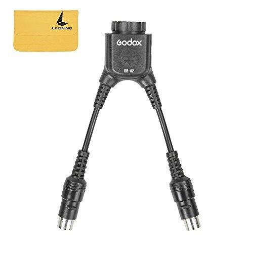 Godox DB-02 Two-in-One Y Pb820 Pb960 pacchetto cavo della batteria migliorando il tempo di Recycle