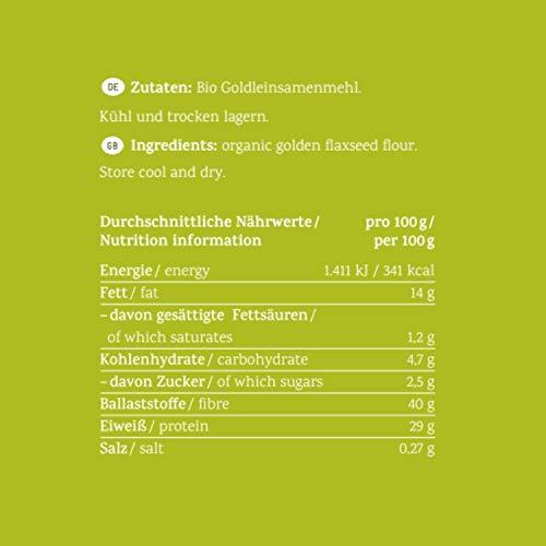 Lizza Low Carb Goldleinmehl 1kg - 7