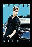 Flagge Original Justin Bieber - Car aus Stoff, mehrfarbig, 75 x 110 cm