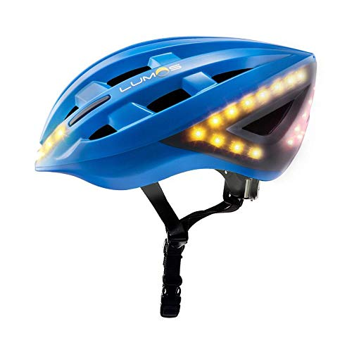 LUMOS Kickstart Casque de vélo Mixte, Bleu Cobalt, Taille Unique