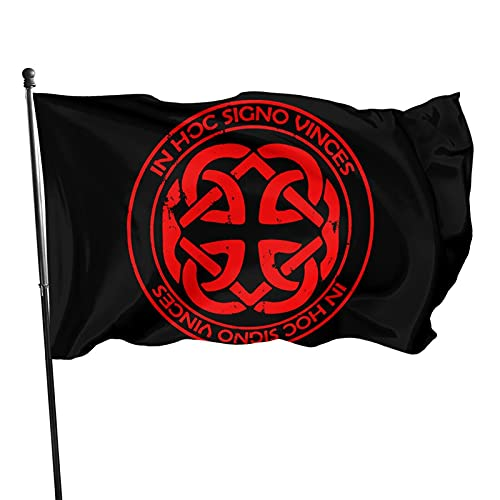 Yilimi Hui Celtic Knot Fatherhood Double Sided Printing 3x5 Foot Flag Outdoor Double Sided 3x5 Ft Flags Best Military Flag is Not Damaged Durable
