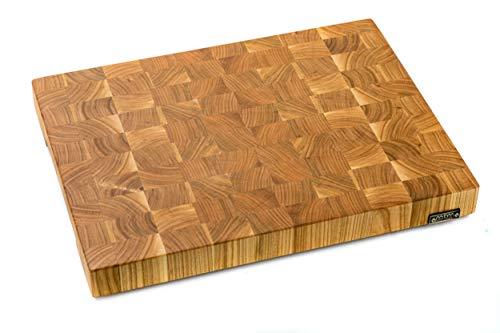 MTM WOOD Tagliere da cucina in legno di ciliegio, End Grain, dimensioni diverse e di spessore 3 e 4 cm (40 x 30 x 4 cm)