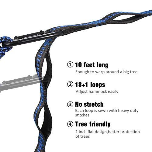 Product Image 6: Kootek Portable Indoor Outdoor Tree Hammock