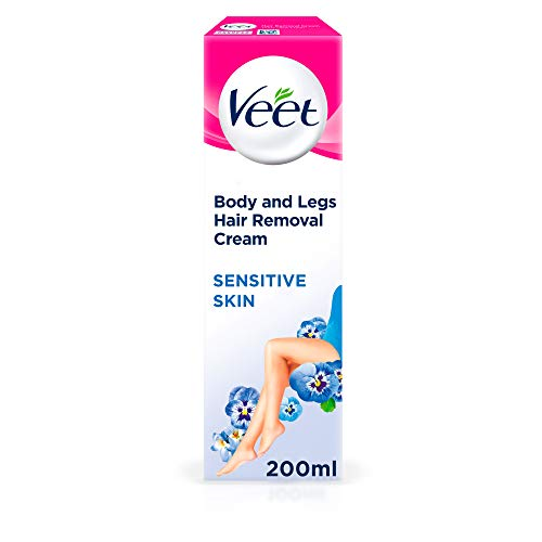 Veet Hair Removal Cream for Sensitive Skin, 200ml