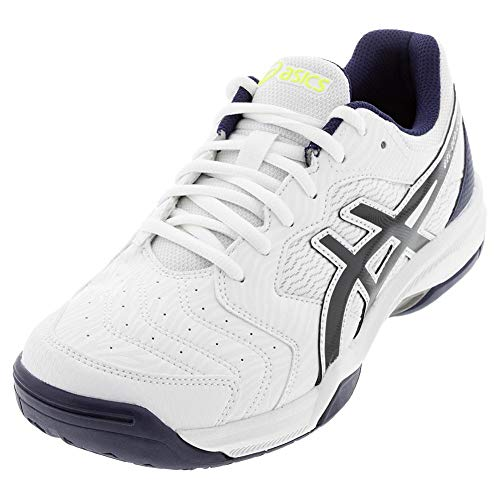 ASICS Men's Gel-Dedicate 6, White/Peacoat, 11 Medium