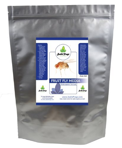 Josh's Frogs The Best MELANOGASTER Fruit Fly Food Media (3 lbs/2.7 Quarts - Makes 20 Fruit Fly Cultures)