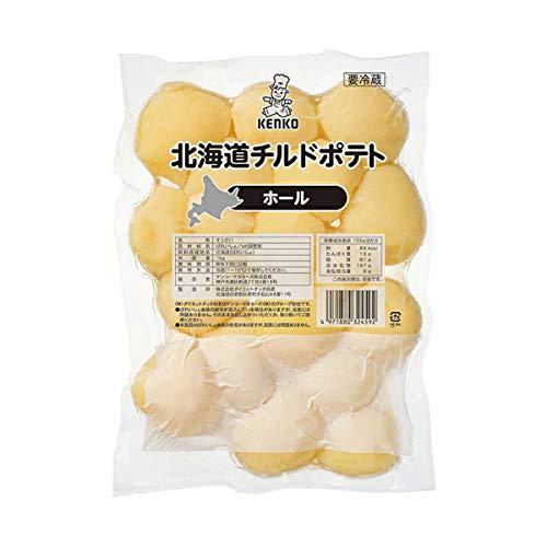 【冷蔵】 ケンコーマヨネーズ 北海道チルドポテト ホール 1kg 業務用 惣菜 カット野菜 じゃがいも