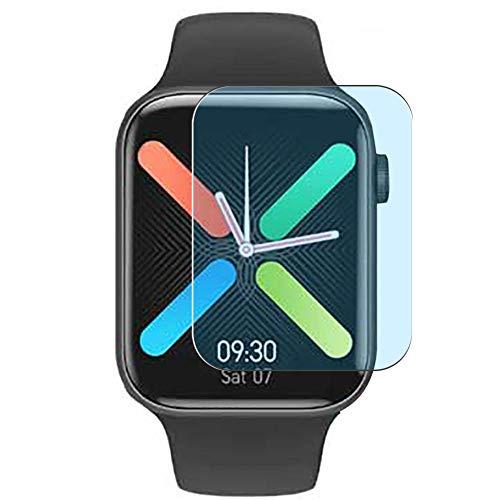Vaxson 3 Stück Anti Blaulicht Schutzfolie, kompatibel mit K8 IWO Max smart watch Smartwatch, Displayschutzfolie Anti Blue Light [nicht Panzerglas]