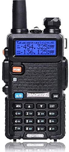 Baofeng UV-5R Dual Band Two Way Radio, Walkie Talkie (Black). Buy it now for 25.50