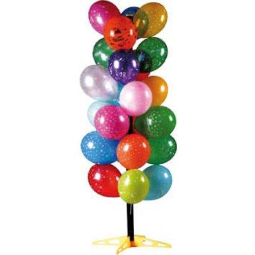 Arbre à ballons plastique - Coloris aleatoire
