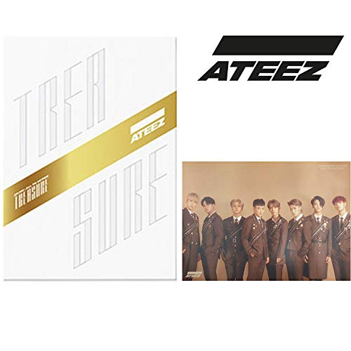AEEZ Treasure EP.Fin: All to Action Album PreOrder (Z-Version) CD + Poster + Postcards + Treasure Film & Card + Sticker + Fotobook + Fotocard + Gift (Extra 10 Fotocards Set)