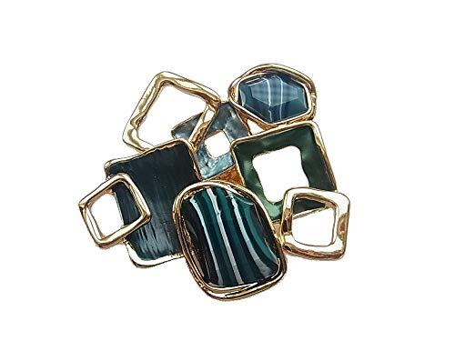 Broche magnético para bufanda o poncho
