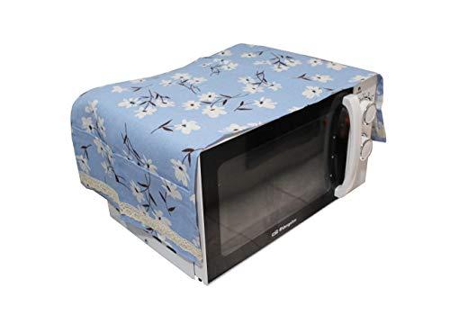 Housse anti-poussière pour micro-ondes, accessoire pour four à micro-ondes, housse anti-poussière, capuche pour décoration de la maison, micro-ondes,