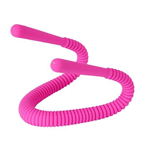 Heallily espéculo vaginal suave y flexible dilatador vestibular femenino separador vaginal para mujeres (rosa roja)