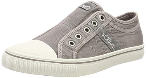 s.Oliver Damen 5-5-24635-22 210 Slip On Sneaker, Lt Grey, 37 EU