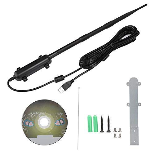 Draagbare kleine wifi-signaalversterker, kampeeruitrusting wifi-ontvanger waterdichte draadloze signaalversterker versterker buiten