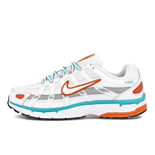 Nike P-6000, Running Shoe Womens, Blanco/Oraculo Aguamarina/Flamenco Magico, 41 EU