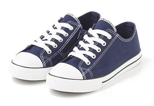TEX - Zapatillas De Lona para Niña, Azul Marino, 36 EU