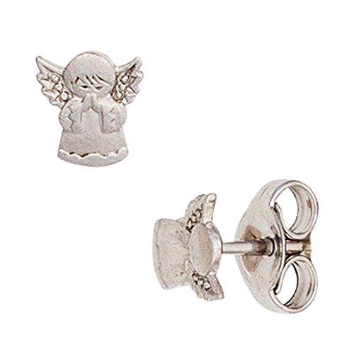 JOBO Kinder-Ohrstecker Engel aus 925 Silber