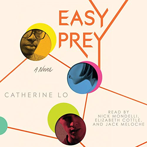 Easy Prey                   Written by:                                                                                                                                 Catherine Lo                               Narrated by:                                                                                                                                 Nick Mondelli,                                                                                        Elizabeth Cottle,                                                                                        Jack Meloche                      Length: 7 hrs and 8 mins     Not rated yet     Overall 0.0