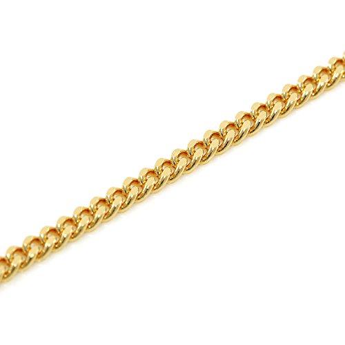 K18 金 喜平 ネックレス 2面 カット 10g 60cm 中折れ式金具