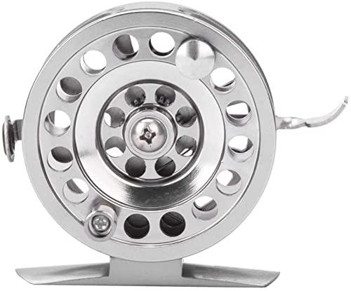Spinning Pesca Carreta Metal Rueda de Pesca de Hielo Rueda en Forma de V Fácil de Instalar Carrete de Pesca con Hielo Rueda de Mano de Mano (Size : BLD50)
