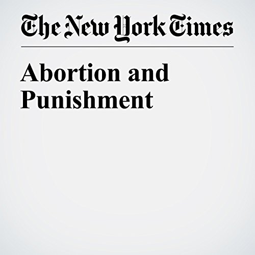 Abortion and Punishment audiobook cover art