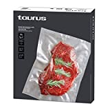 Taurus 999261000 - Pack de bolsas para envasar al vacío 20x30 cm, 50 unidades, Sous-vide, para la conservación de alimentos