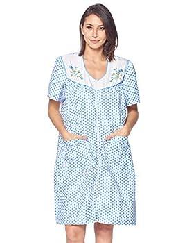 womens robes zipper front 2