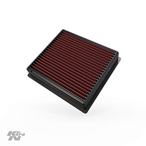 K&N Engine Air Filter: High Performance, Premium, Washable, Replacement Filter: 2013-2019 Dodge Ram Truck L6 DSL/V8 FI (2500, 3500, 4500, 5500), 33-5005